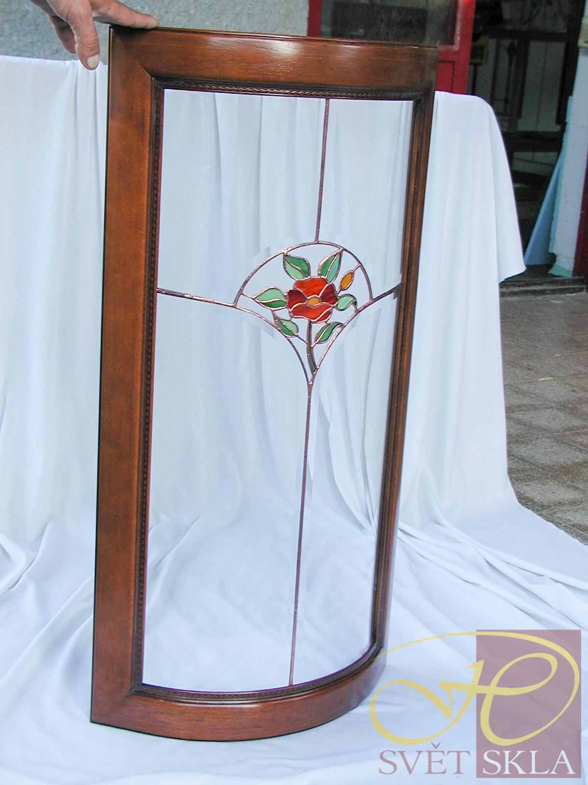 Ohýbaná vitráž