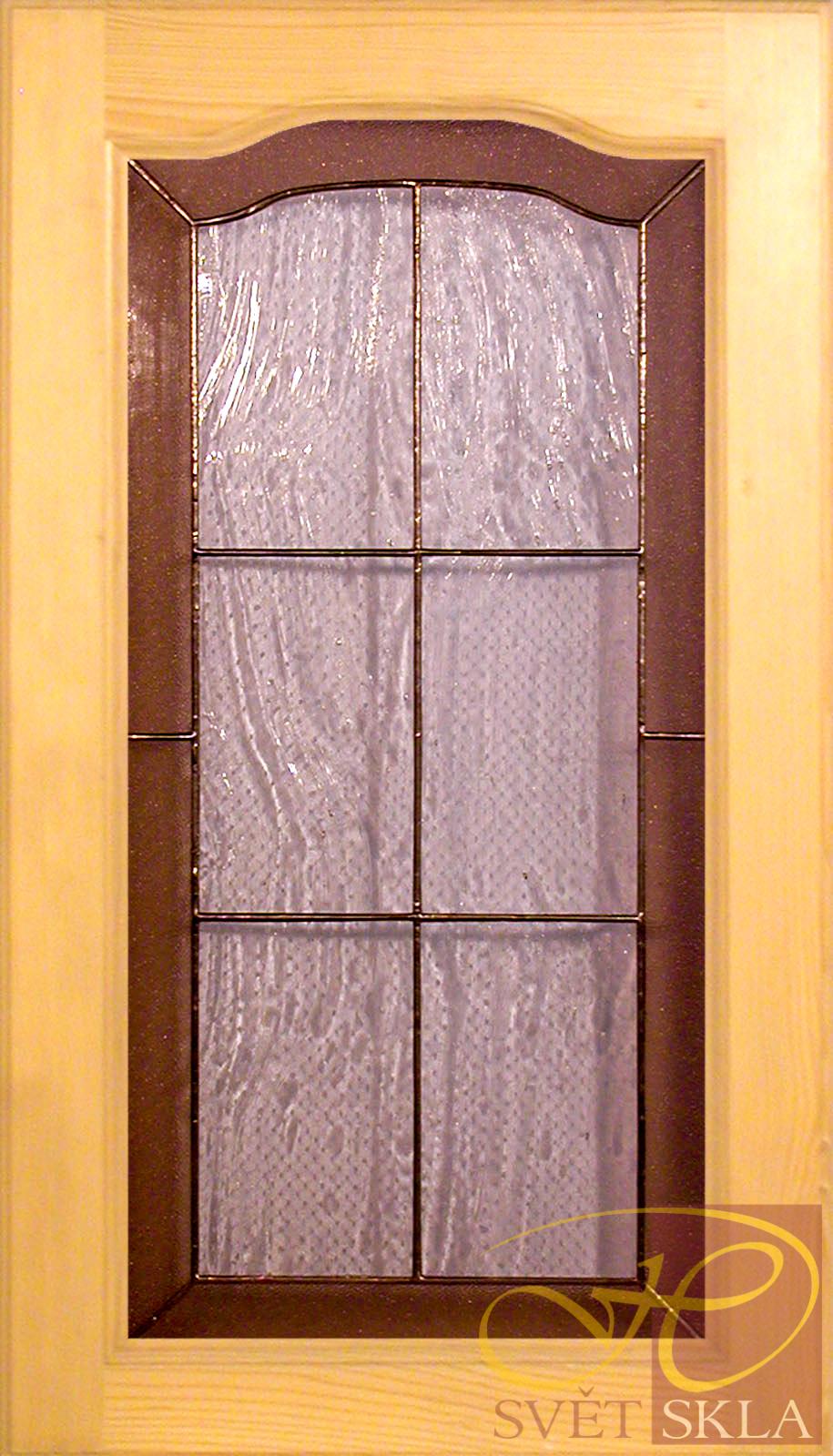 vitráž do nábytkových dvířek ND 007 05