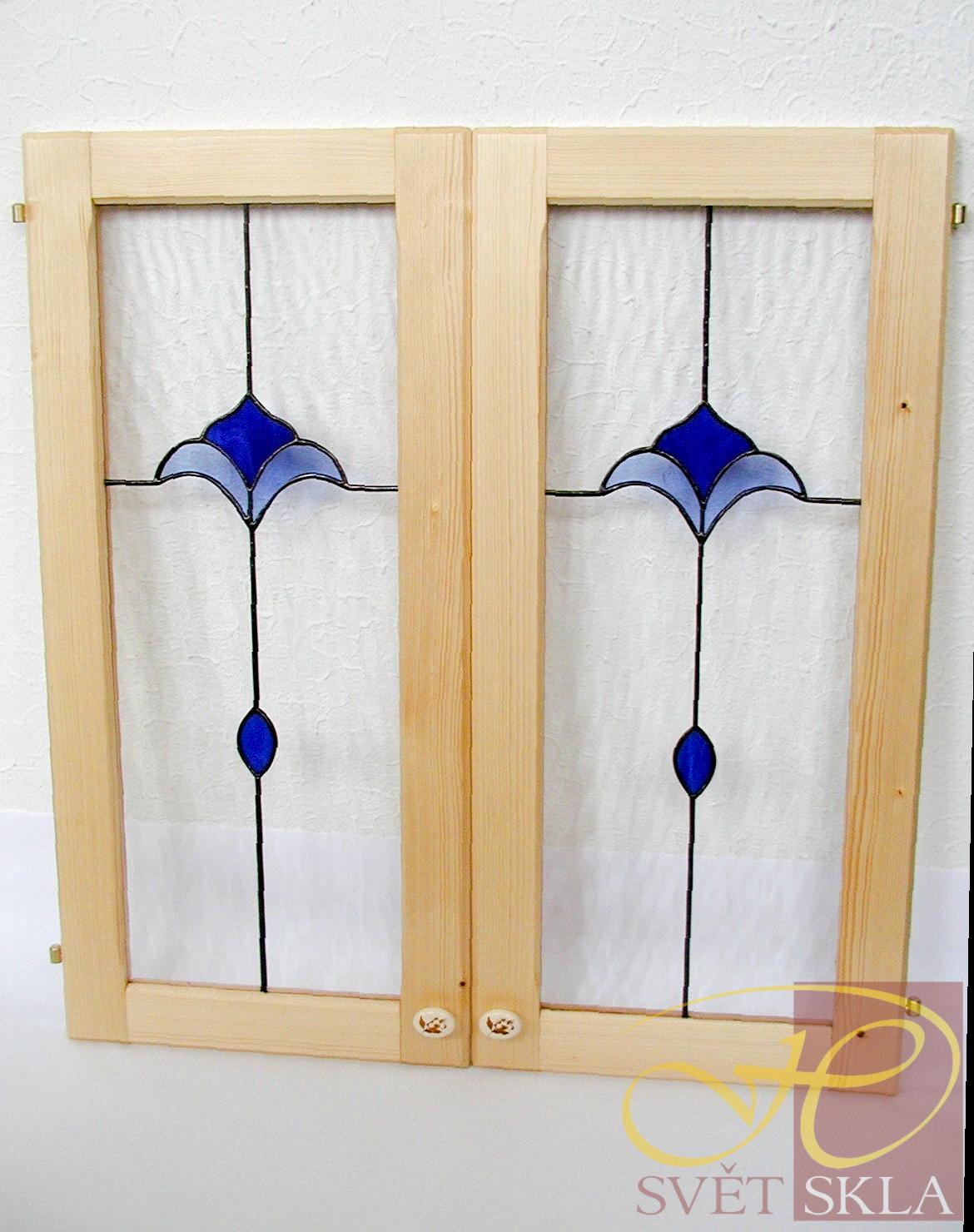 vitráž do nábytkových dvířek ND 10