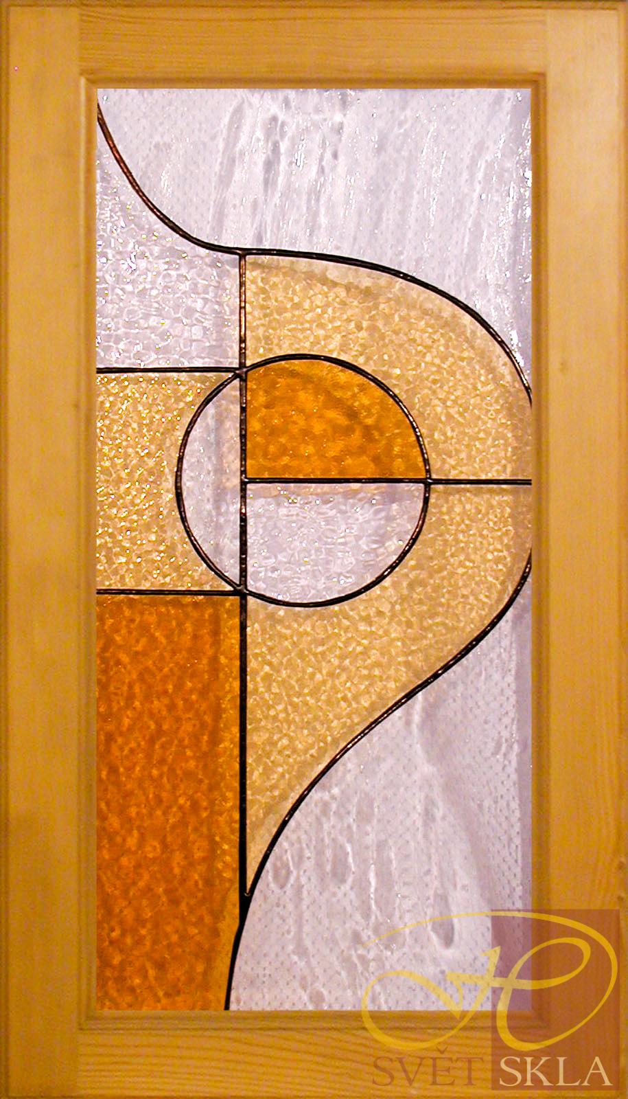 vitráž do nábytkových dvířek ND 019 03