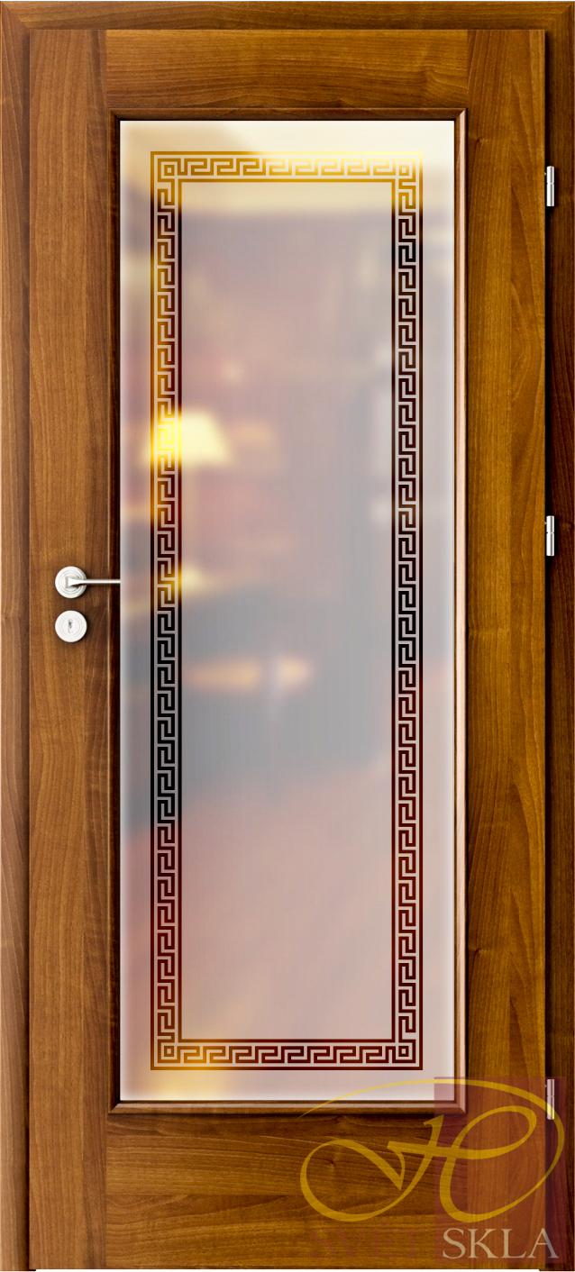 Leptané sklo GRL 009