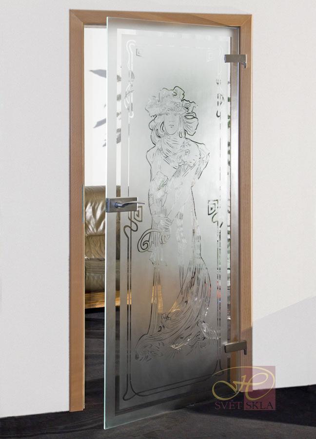 virgo skleněné dveře