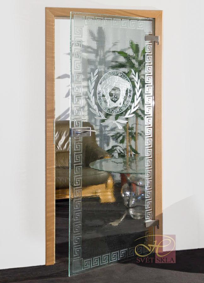 dekus puella skleněné dveře