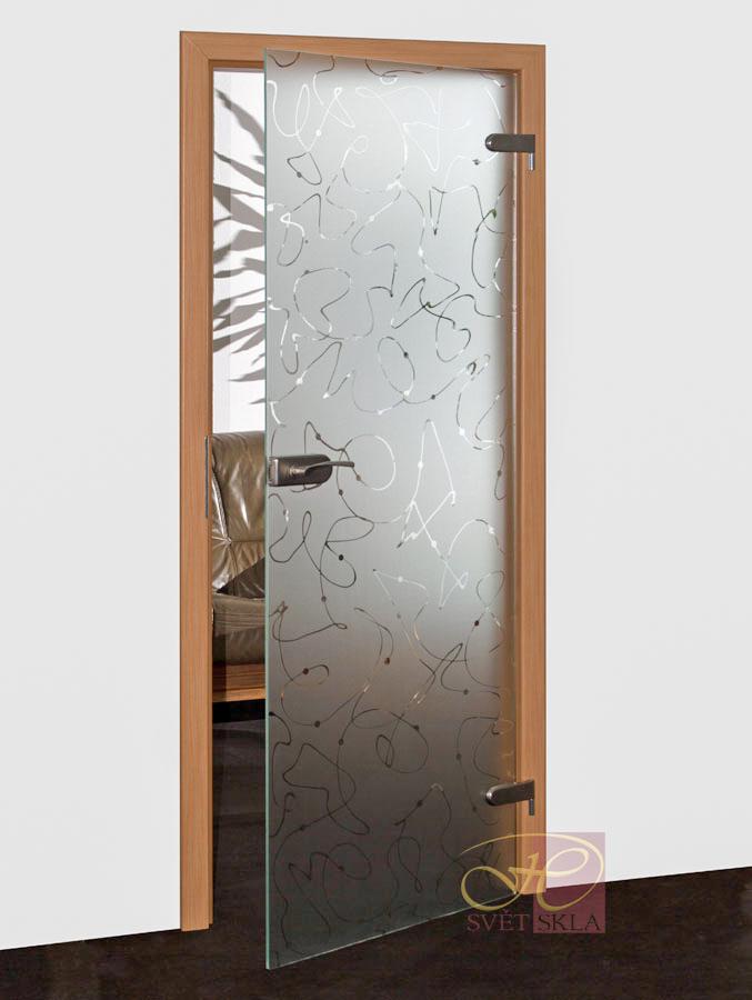 erodium skleněné dveře